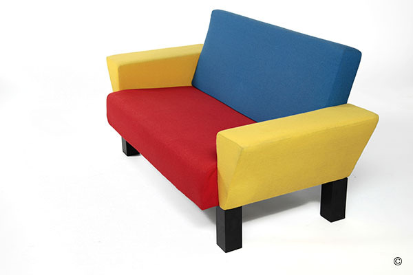 Westside Sofa By Ettore Sottsass With Galerie Palindrome